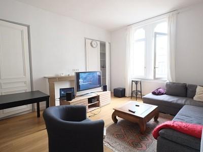 APPARTEMENT T2 A LOUER - LILLE WAZEMMES - 66,1 m2 - 740 € charges comprises par mois
