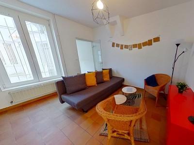 CHAMBRE A LOUER - LILLE VAUBAN - 22,16 m2 - 450 € charges comprises par mois
