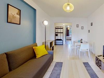 CHAMBRE A LOUER - LILLE MOULINS - 20,34 m2 - 445 € charges comprises par mois