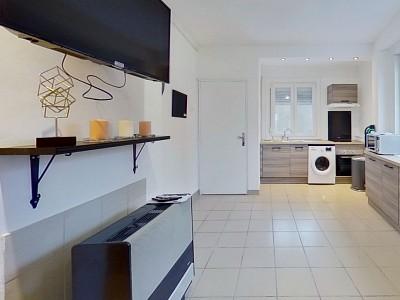 APPARTEMENT T4 A LOUER - LILLE FIVES - 66,15 m2 - 1130 € charges comprises par mois