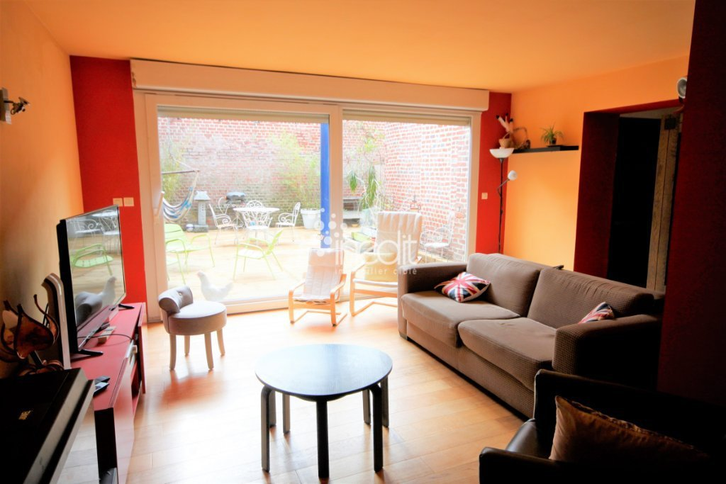APPARTEMENT T4 A VENDRE - TOURCOING - 108 m2 - 164000 €
