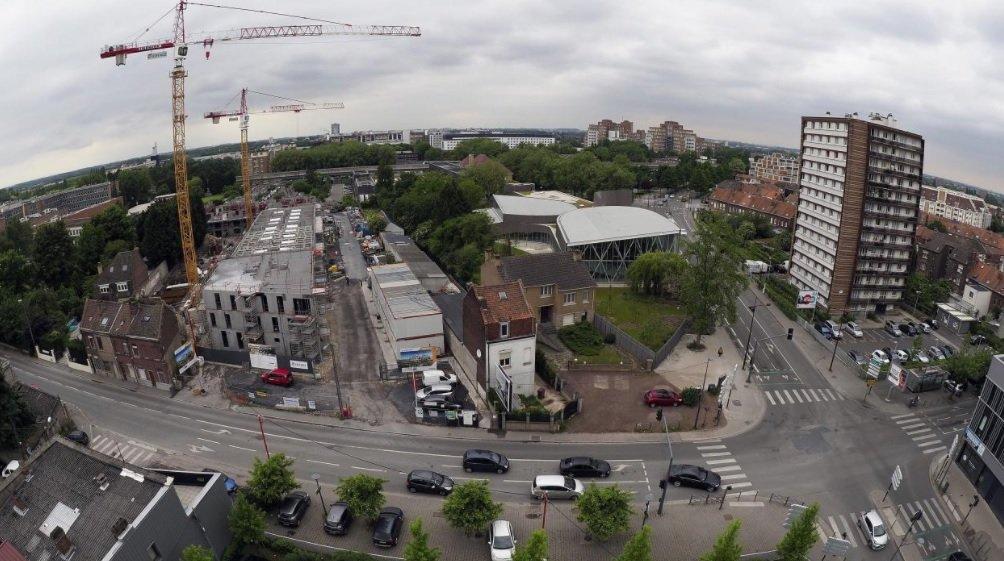 Avec plus de 80 chantiers, les constructions de logements neufs envahissent la ville de Lille